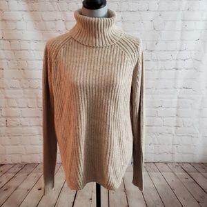 Silence & Noises turtleneck sweater Sz Medium